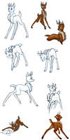 Rudolph doodles