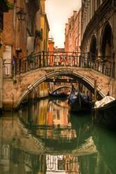 Quiet Bridge in Venice