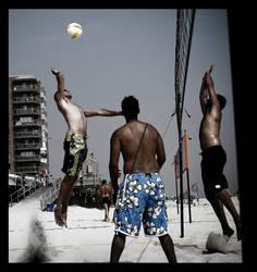 Beach Volleyball Ups by AnAnthemOfTheNew