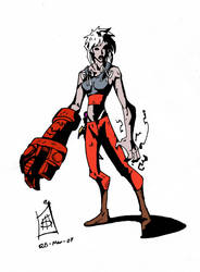 Nira the Hellgirl...RHOD by CrimsomShade