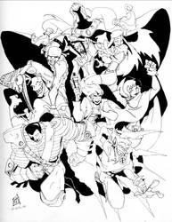 X-Men Zero by CrimsomShade
