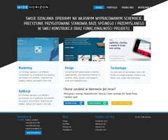 Concept of agency website