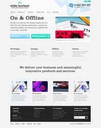 Agency website by colorlabelstudio