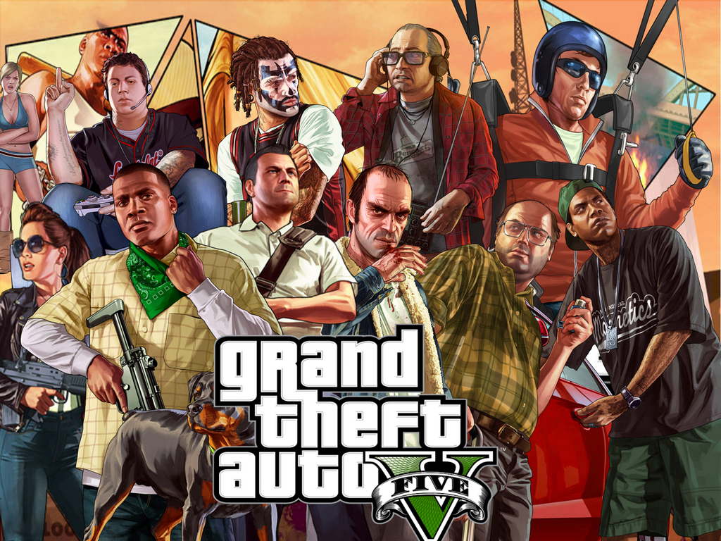 Gta 5 Hd Wallpapers Full Hd
