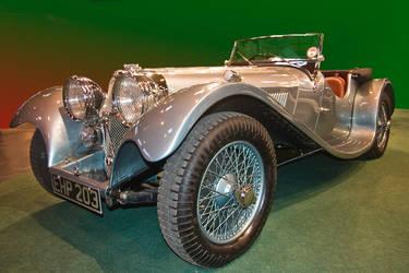 Jaguar SS 100 by Willie-J