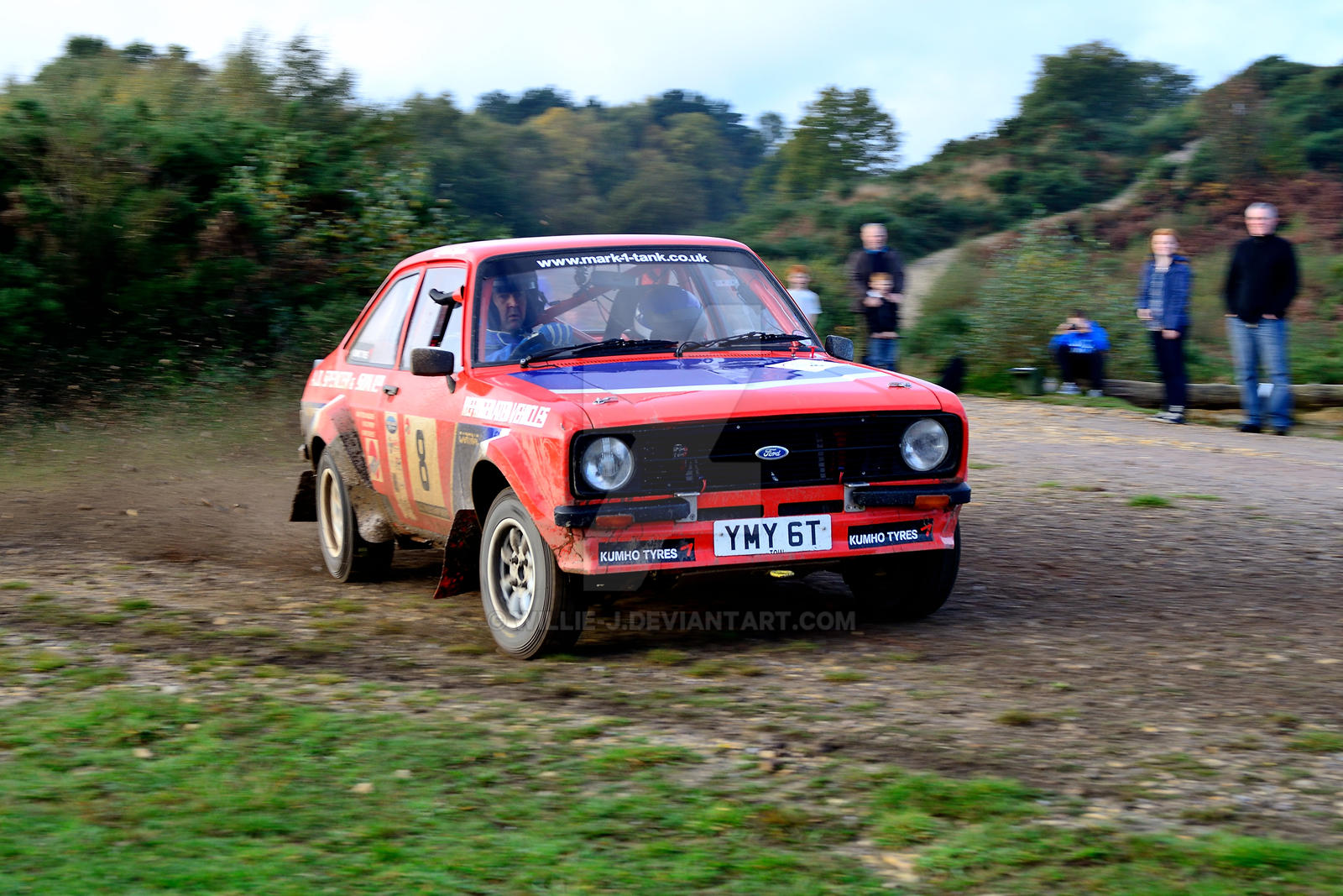 Ford Escort No 8 by Willie-J
