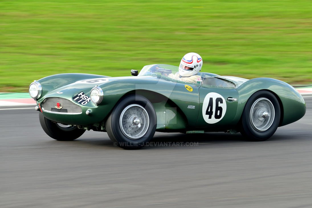 Aston Martin DB 3S No 46 by Willie-J