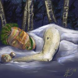 Sleeping in Boulder by FearHubris