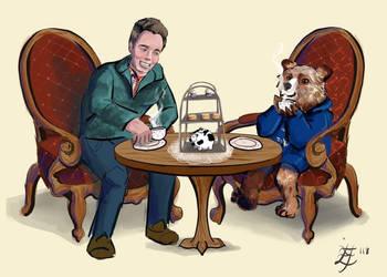 Tea with Paddington  by FearHubris