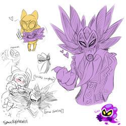 Antasma sketches by SpadesArts