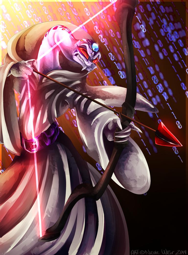 [SPOILERS] Rebooted!Pythor by SpadeNightmaren