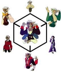 Vampire Hexafusion Meme by SpadesArts