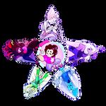 (FOR SALE) Crystal Gems Star Design