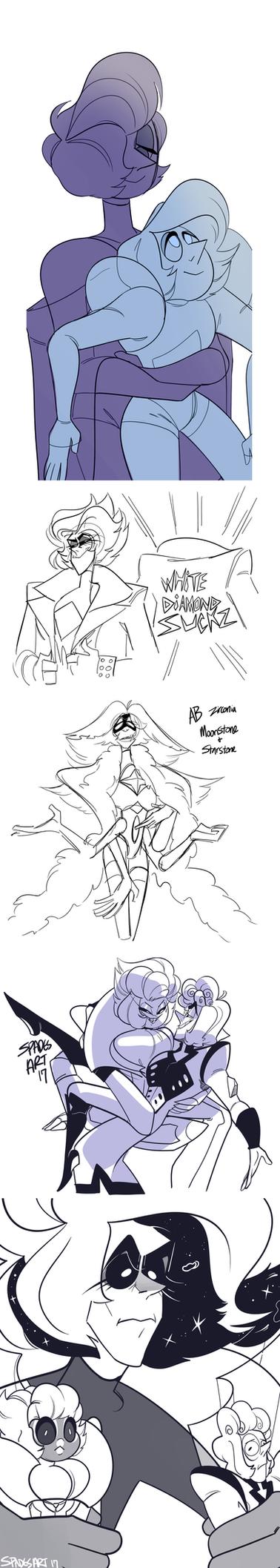 trunglurre doodles 2 by SpadesArts