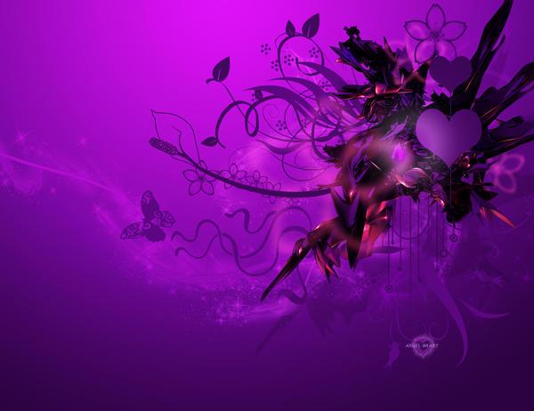 wallpaper purple. Purple wallpaper-c4d by