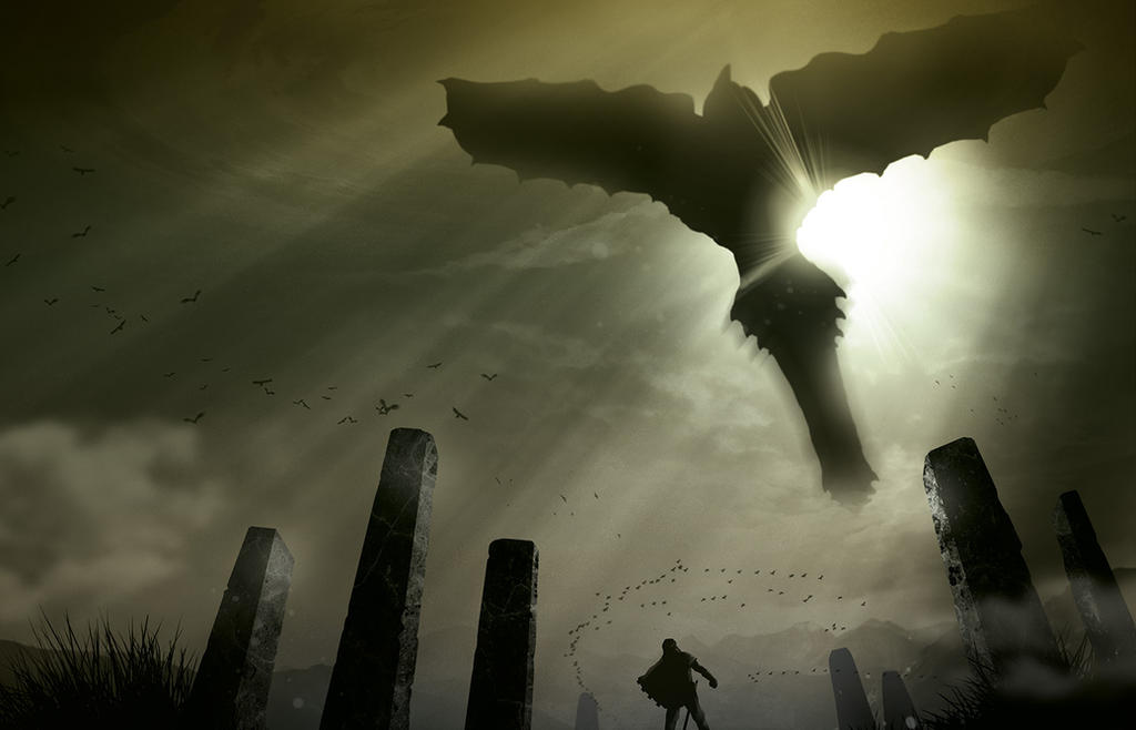 Shadow of the Colossus by DnaTemjin