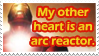 Arc reactor heart stamp by quazo