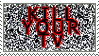 Kill Your TV Stamp by quazo
