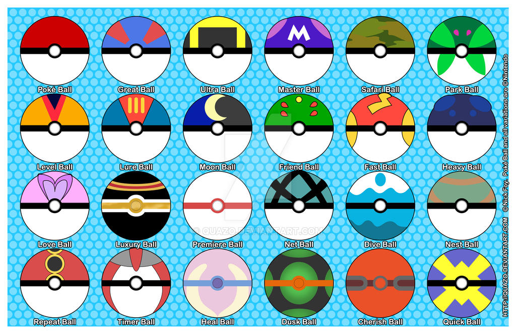 Every Single Pokeball 113050198