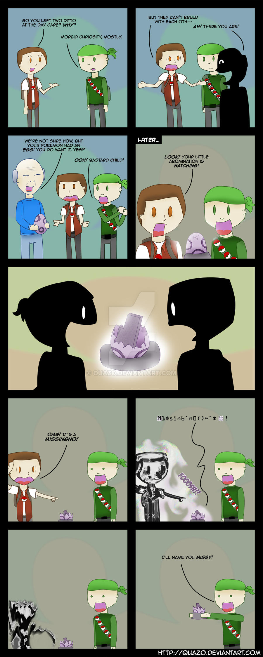 Ditto divided by zero equals by quazo