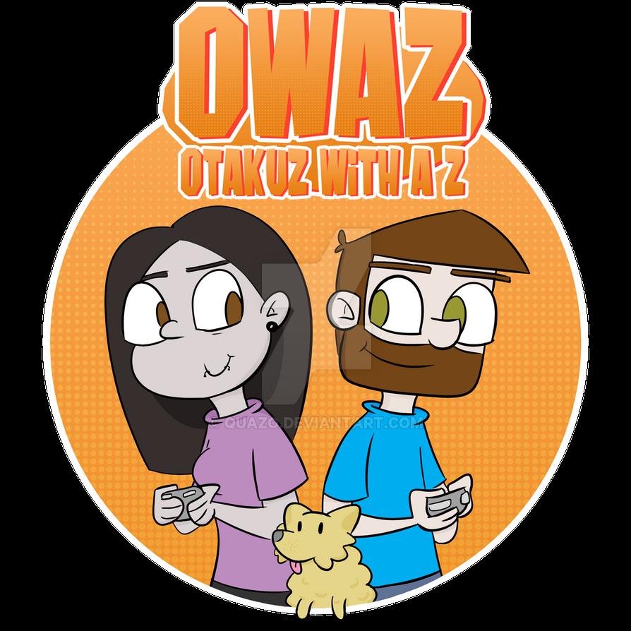 OWAZ Let's Play logo by quazo