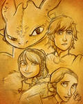 How Train Your Dragon 2 - SKETCH