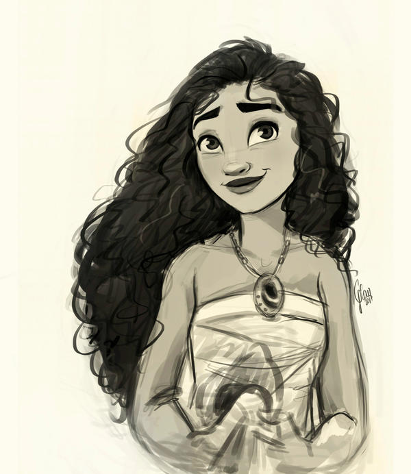Sketch of this beautiful girl with curly hair! by Gian16 ...