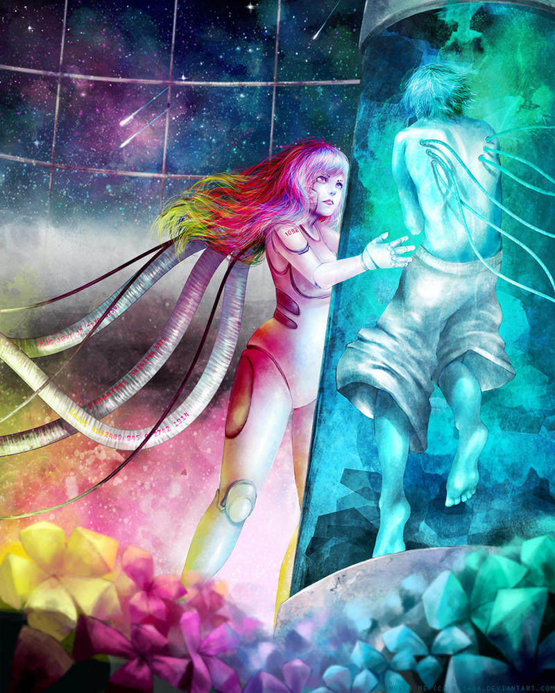 Cyborg Love by zephy0
