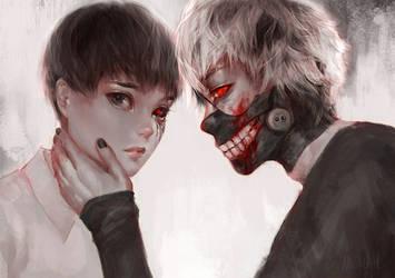Tokyo Ghoul by zephy0