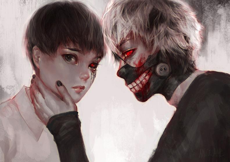 Tokyo Ghoul by visaga