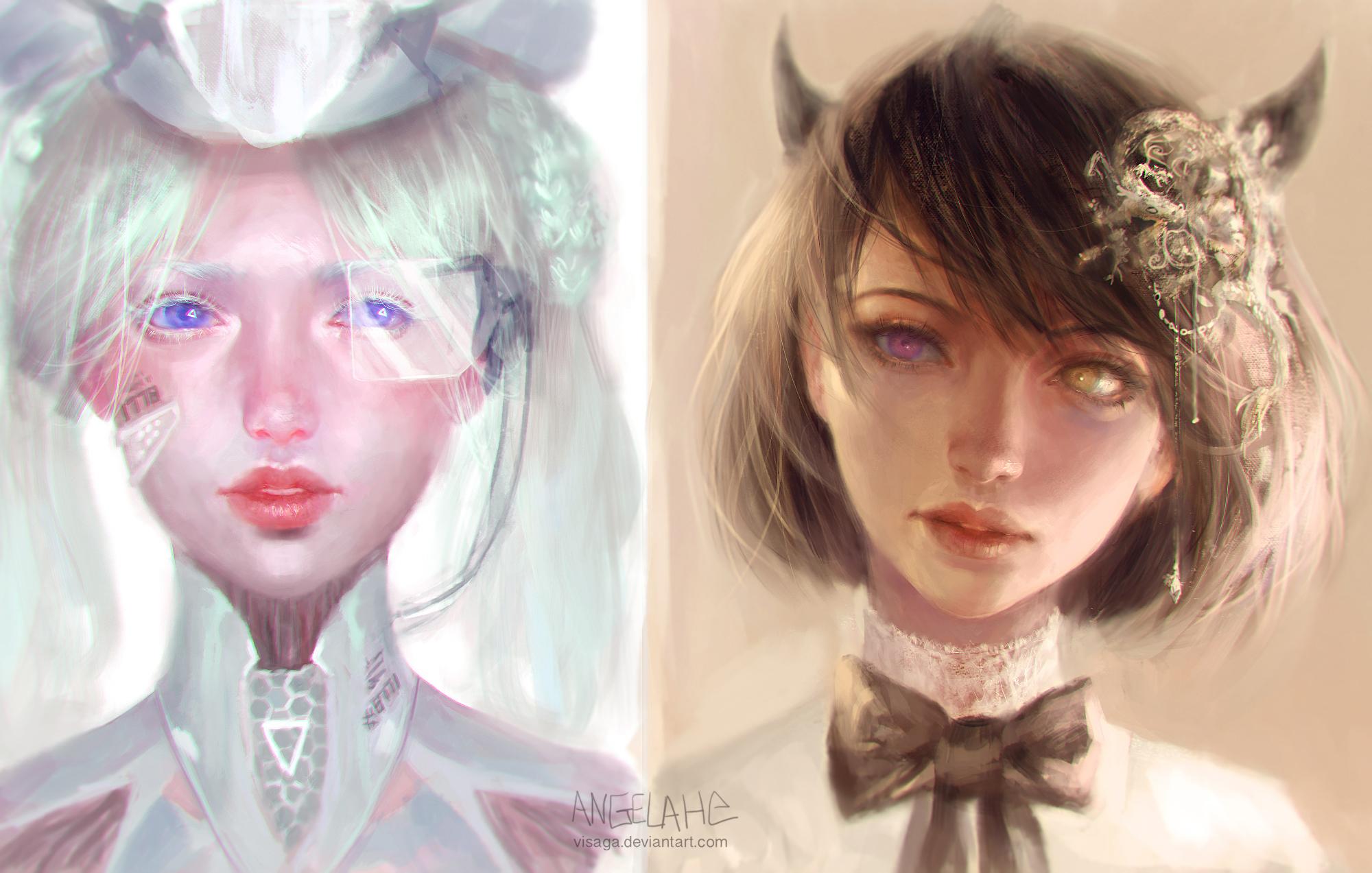 Girl Portraits by visaga