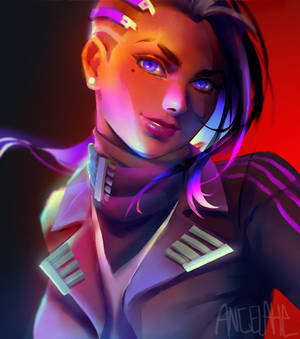 Sombra in a suit