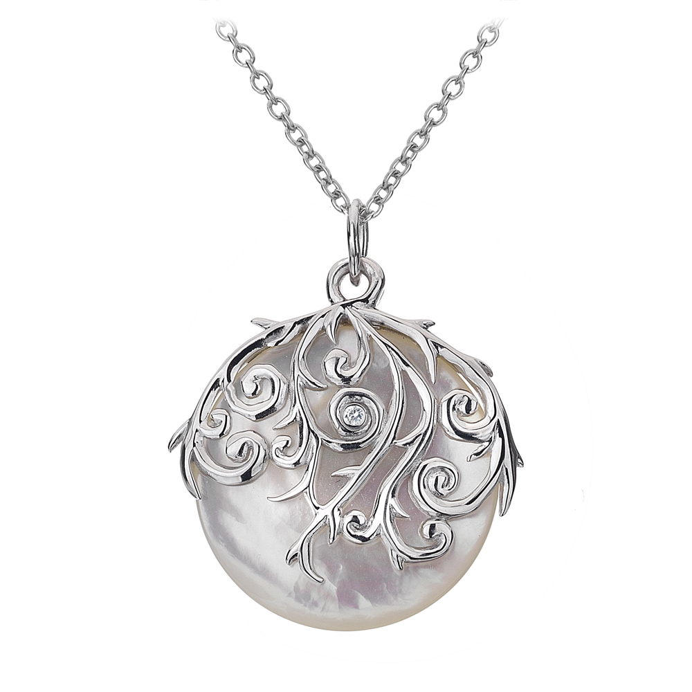 diamonds-mother-of-pearl-orb-pendant by aarizvi on DeviantArt