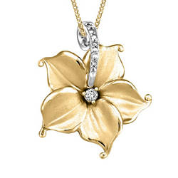 Nelumbo-Diamond-Pendant