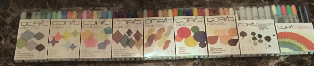 So Many Copics! by MrGeloTheSecond