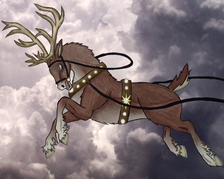 Reindeer by BlueDaisy767