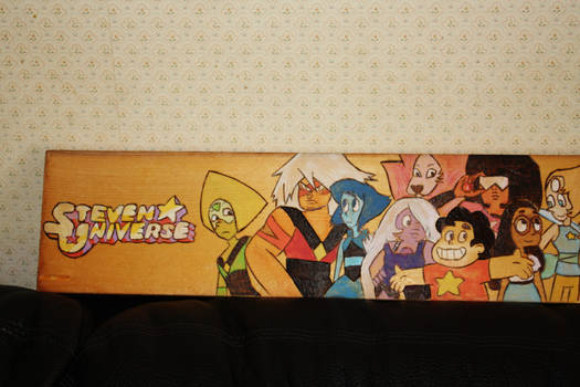 Steven Universe Wood Burning First Half
