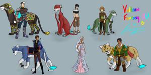 Voltron Fantasy AU