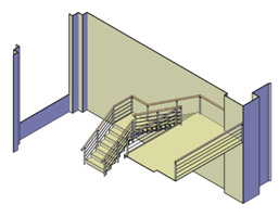 Design and Construction of a Student Area by Francoise-Evelyne