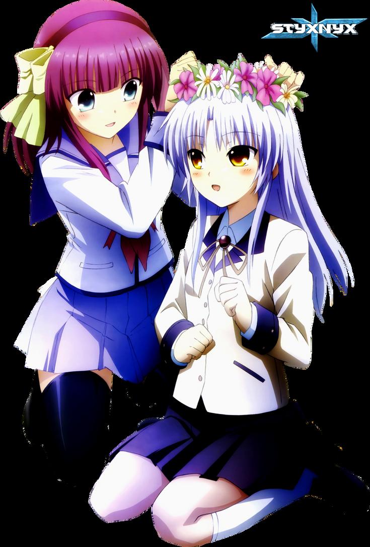 Kanade and Yurippe by Dumke
