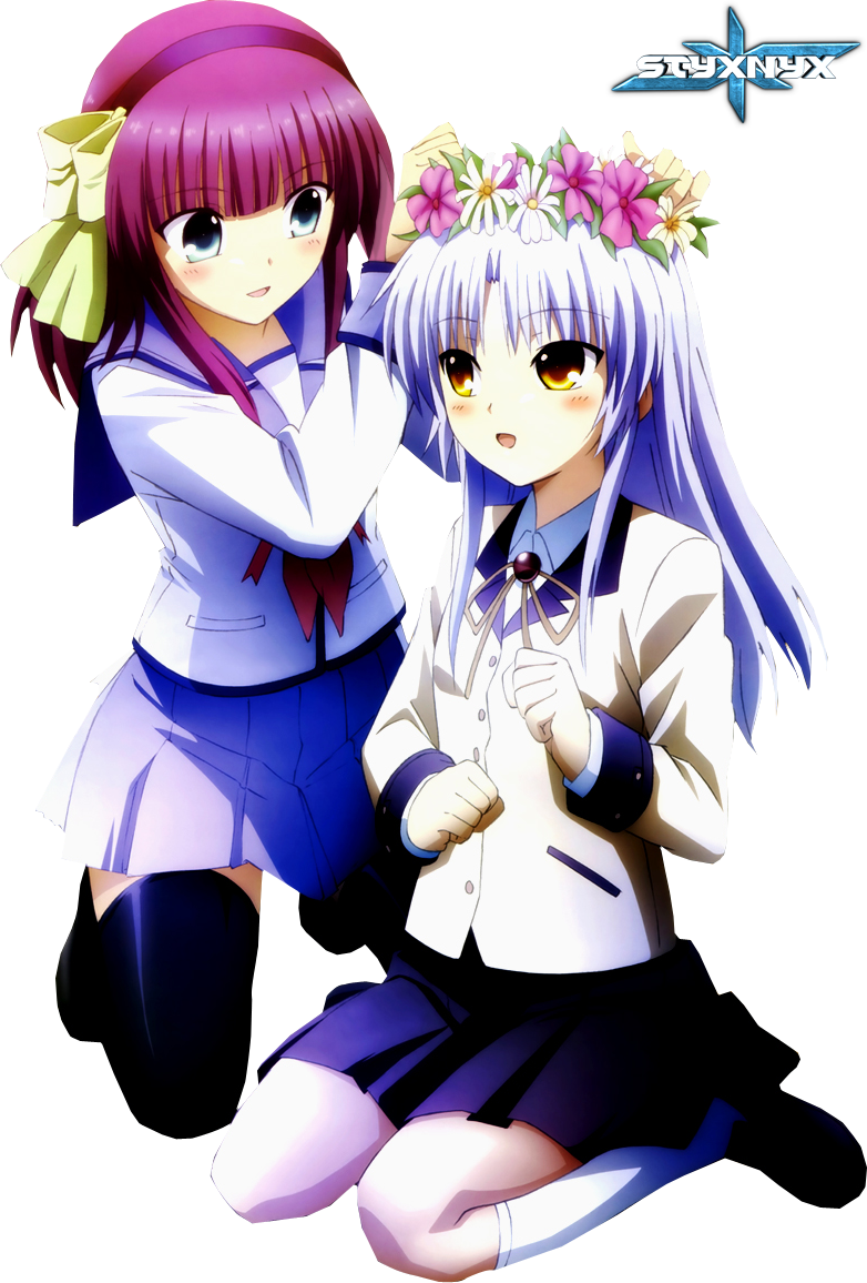 Kanade and Yurippe by Dumke