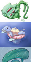 1-10 Pokemon by DietPoison