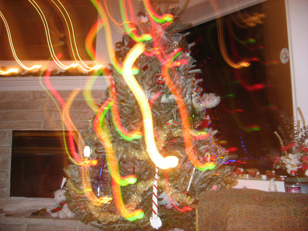 Trippy Christmas Lights by VevinaYvon on DeviantArt
