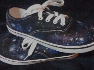 my galaxy shoes  :D by Anju387