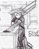 Cloud Strife by anemixdacat93