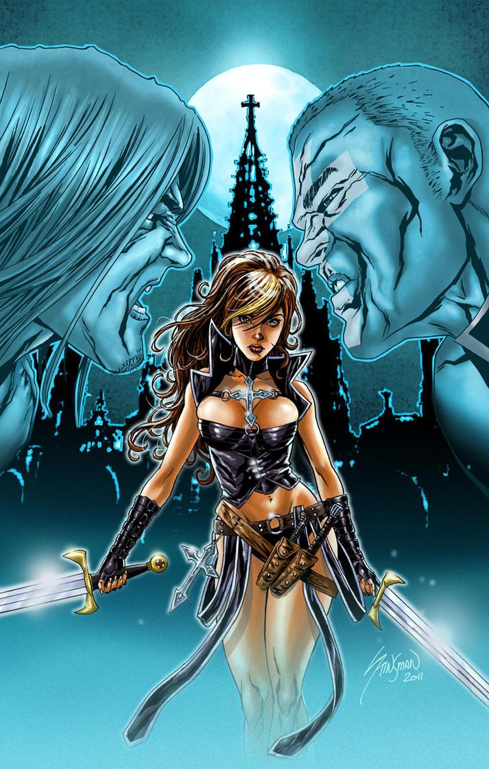 Avengelyne Variant Cover 5 by John-Stinsman