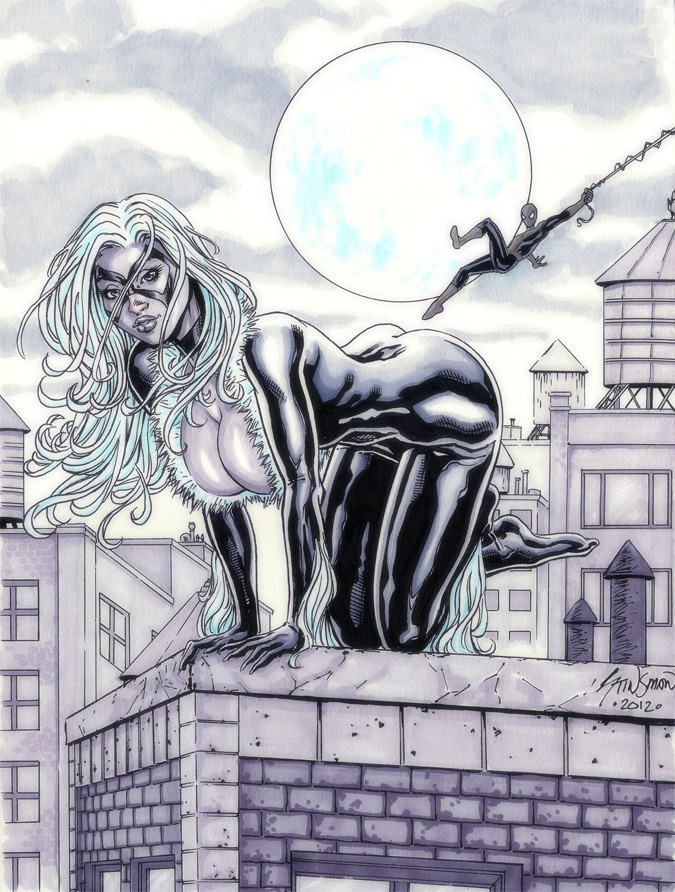 Black Cat Commission 02 by John-Stinsman