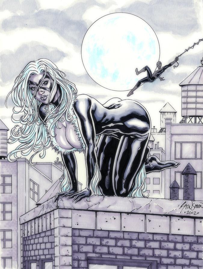 Black Cat Commission 02 by John-Stinsman