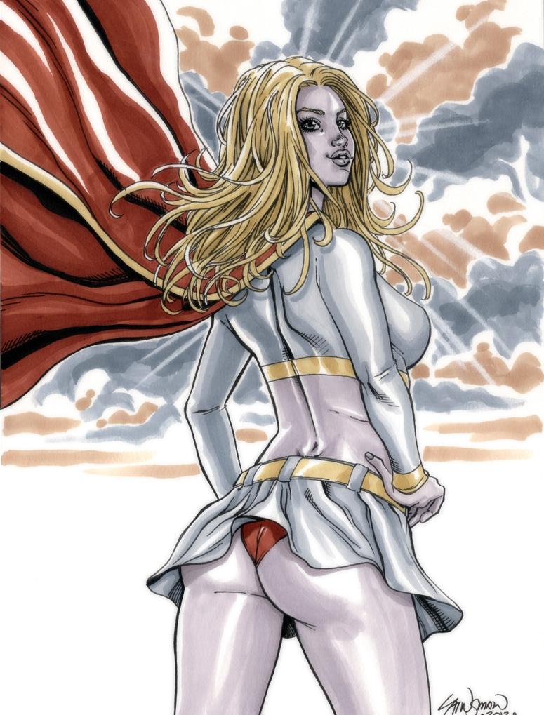 Supergirl Commission 02 by John-Stinsman