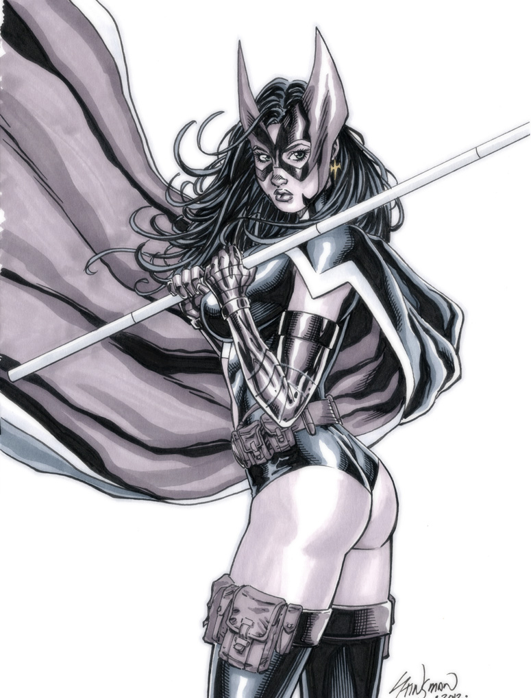 Huntress Commission 02 by John-Stinsman